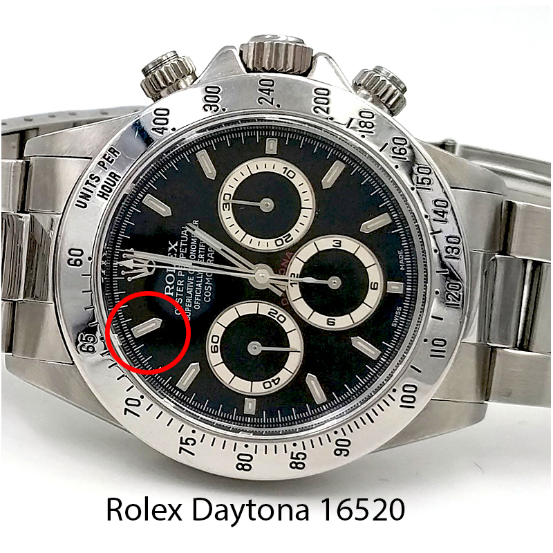Index Rolex Daytona 16520